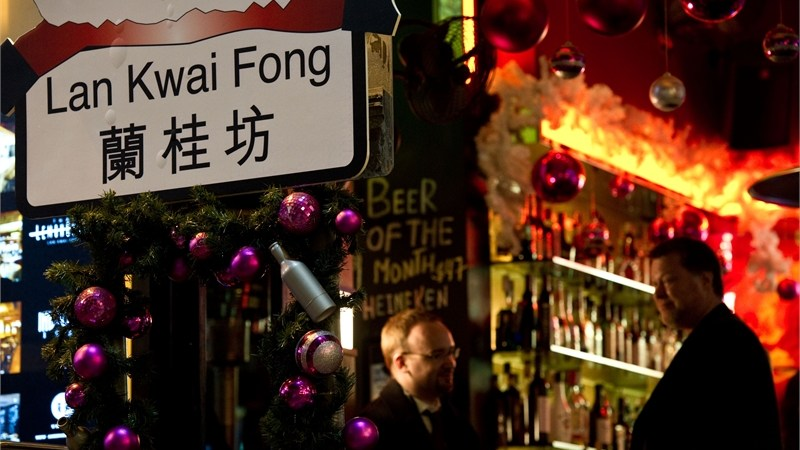 Nightlife, restaurants, bars in Lan Kwai Fong
