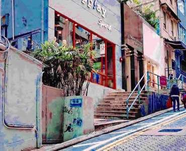 St Francis Street-chic F&B neighborhood Wan Chai