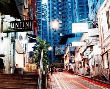 St Francis Street-chic neighborhood Wan Chai