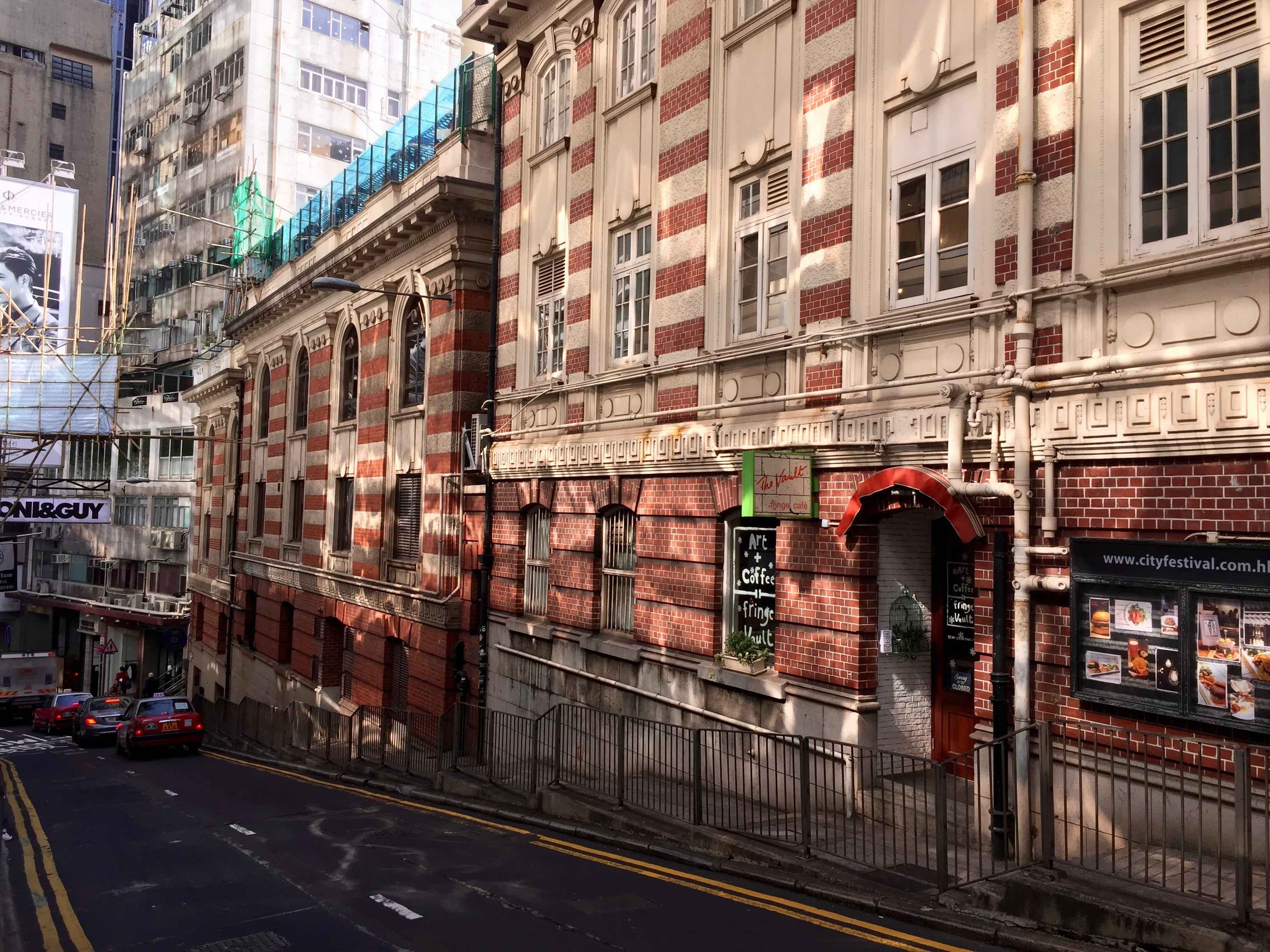 Wyndham Street-haven for restaurants and bars