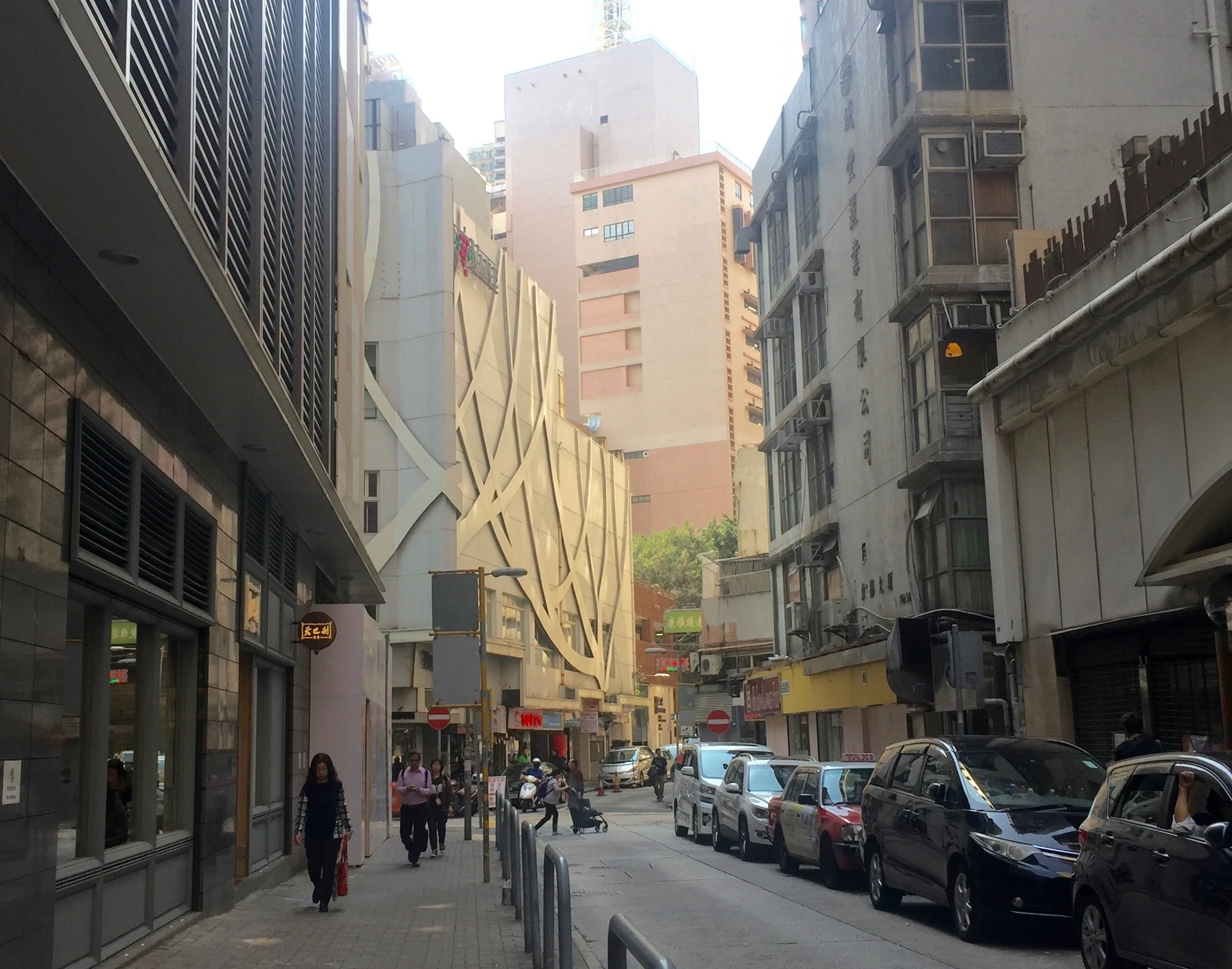 Wood Road Wan Chai-foodie street of local and Asian authentic restaurants