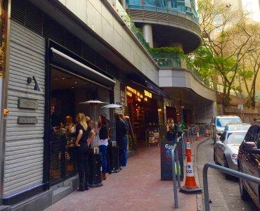 Arbuthnot Road - closeby restaurants and bars Wyndham Street Central