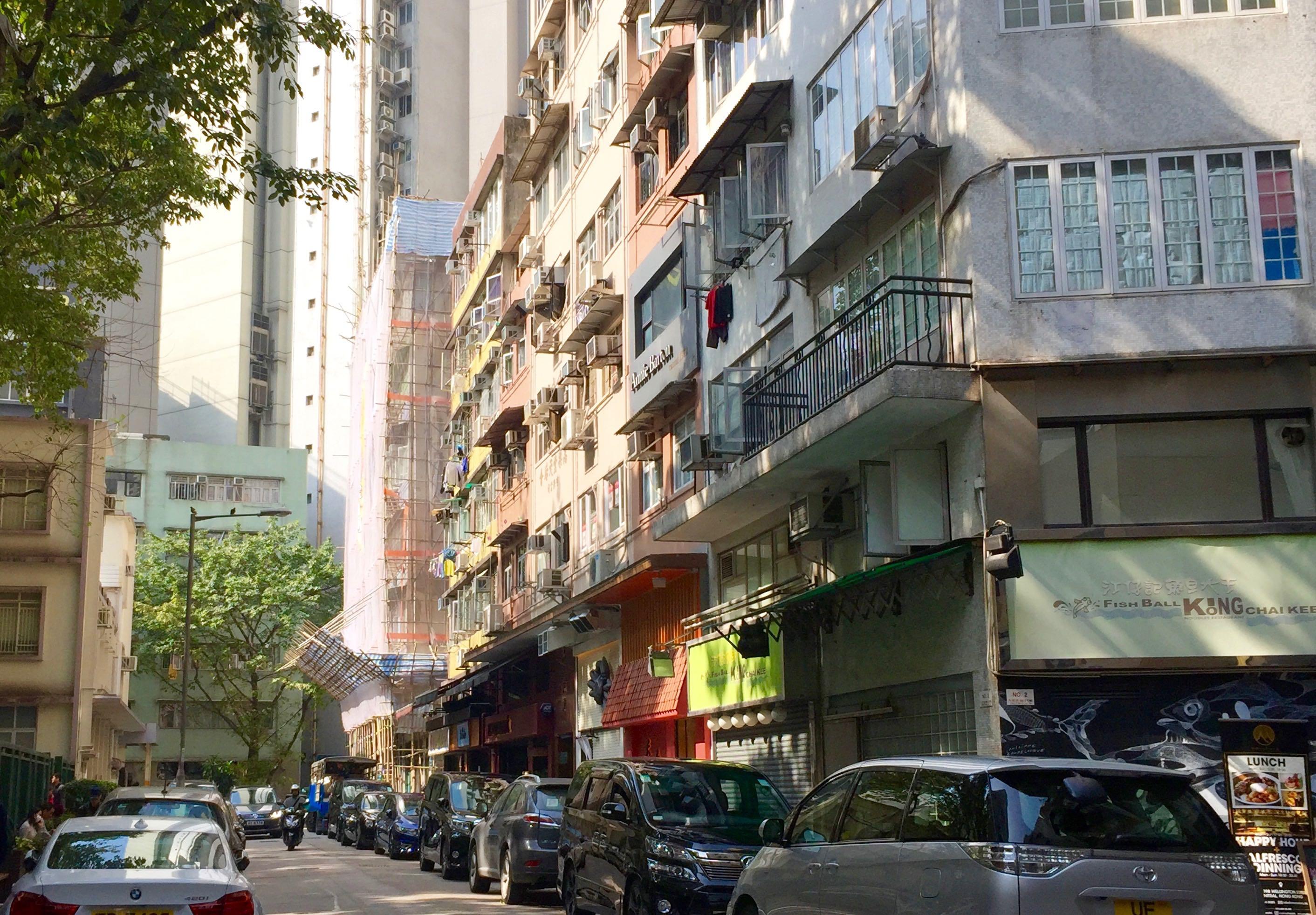 Central Kau U Fong - with neighbourhood restaurant vibes next to Gough Street