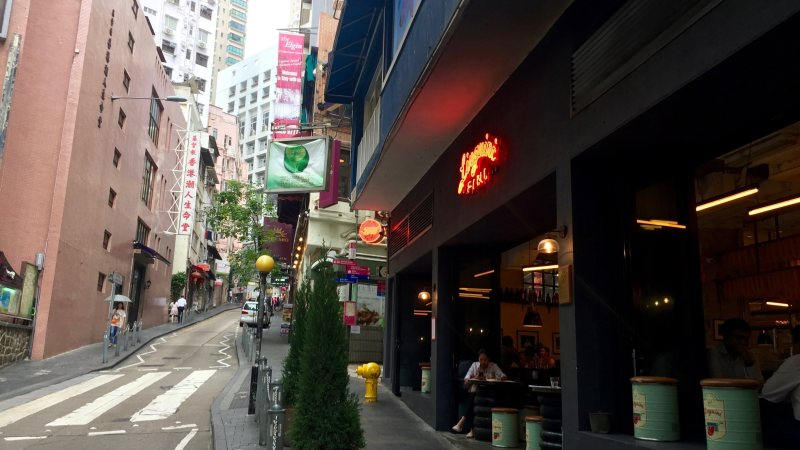 Soho Central Elgin Street provides relaxing dining environment
