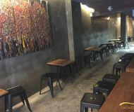 Hong Kong Central Soho F&B shop lease with chilled bar fitting