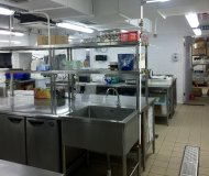 Hong Kong central kitchen for sale with full equipments food factory licence