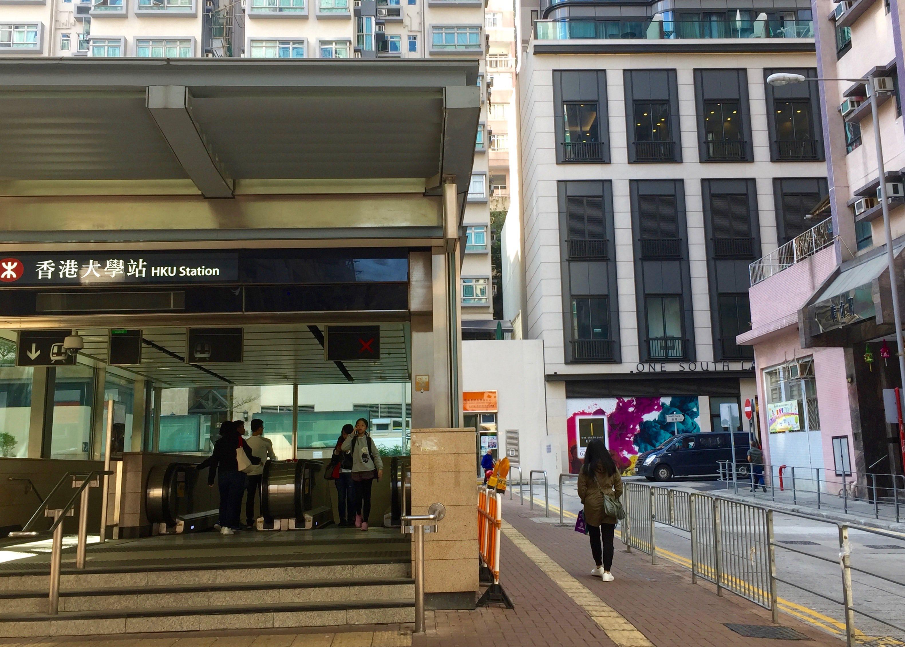 Hong Kong Sai Ying Pun minute-walk from MTR restaurant shop for rent