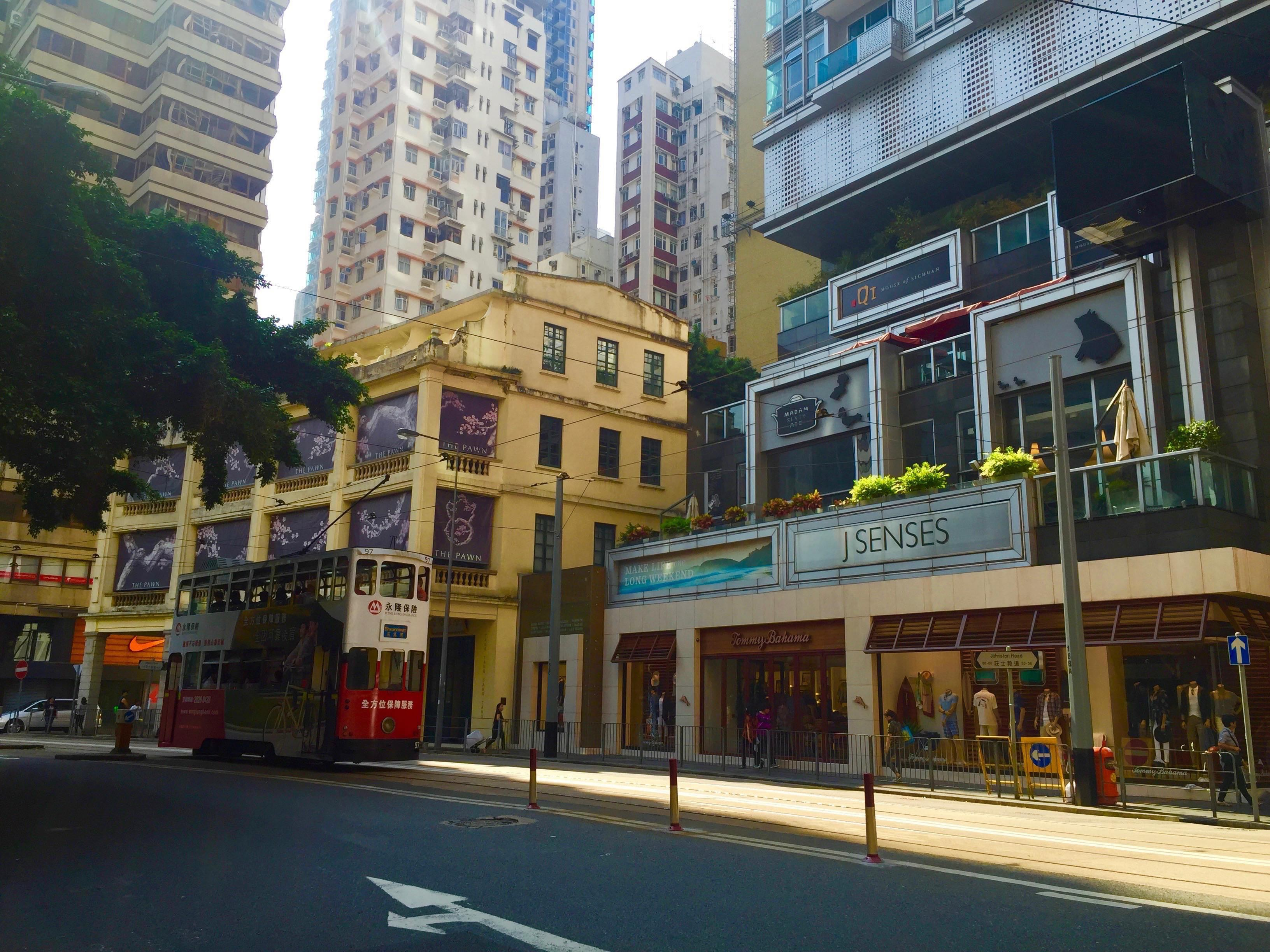 Hong Kong Wan Chai Johnston Road restaurant cafe bar space for Lease
