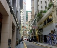 Hong Kong Wan Chai Ship Street high-street wide-frontage F&B Shop for Lease