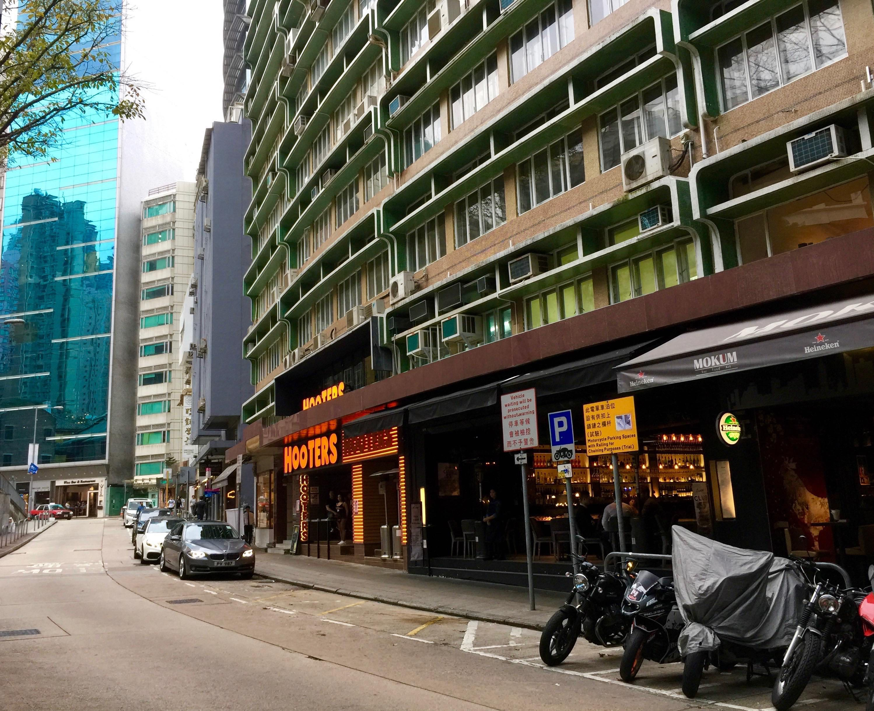 Hong Kong Central Wyndham Street High-ceiling F&B Shop for Lease