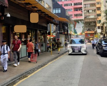 Hong Kong Wan Chai High Traffic Restaurant for Sale