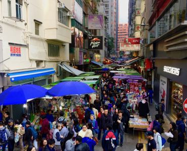 Hong Kong Wan Chai - High Traffic Spot for Dining & Local shopping in Hong Kong