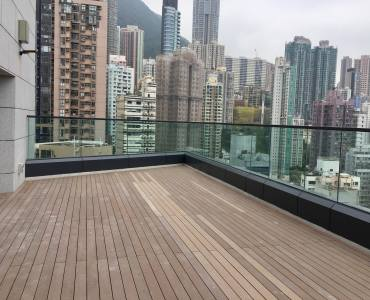 HK Sheung wan F&B sapce for lease with roof