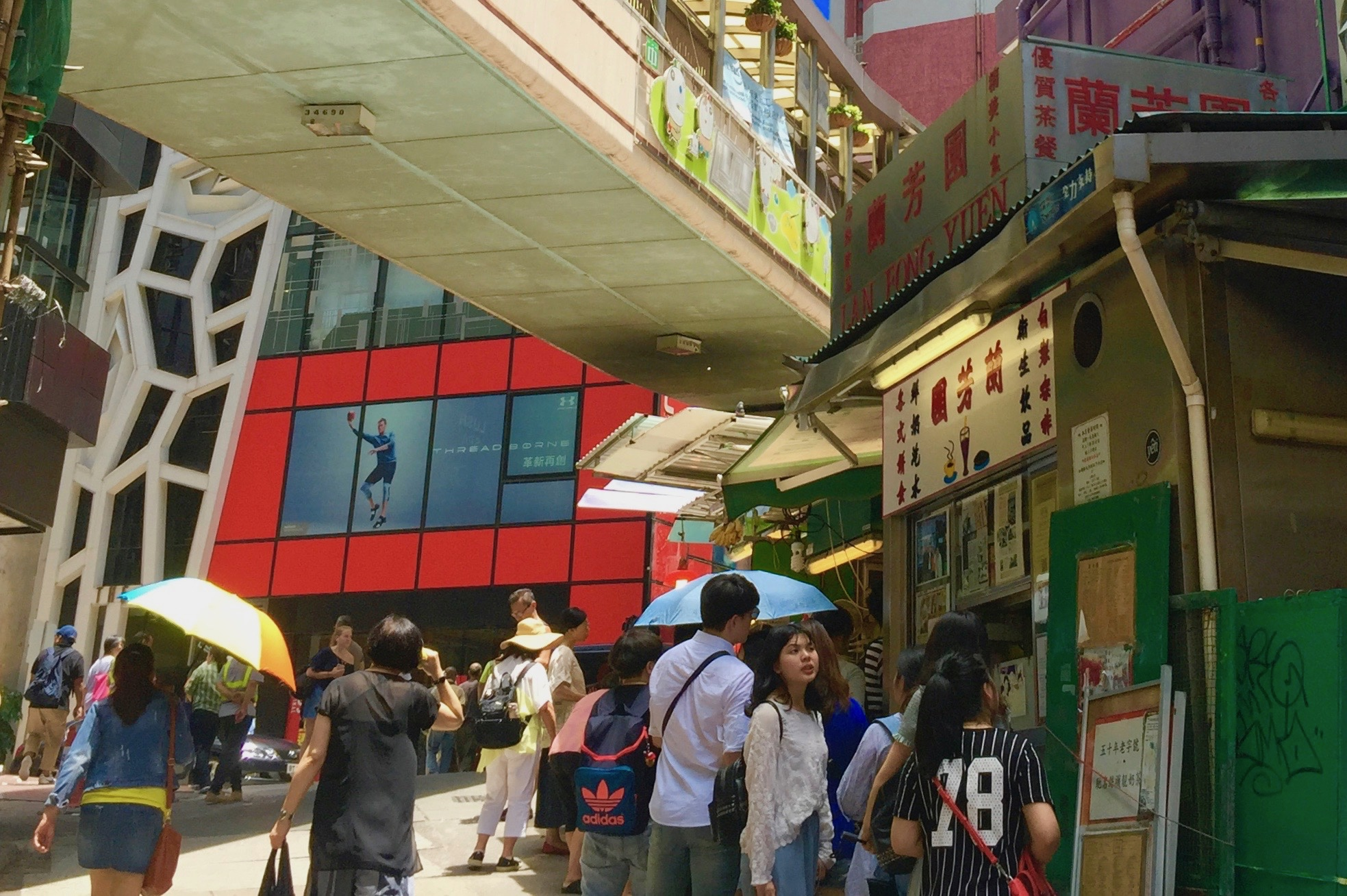 Hong Kong Central F&B Shop for Lease on Gage Street