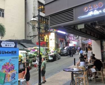 Hong Kong Central Renowned Restaurant & Bar in Lan Kwai Fong for Sale