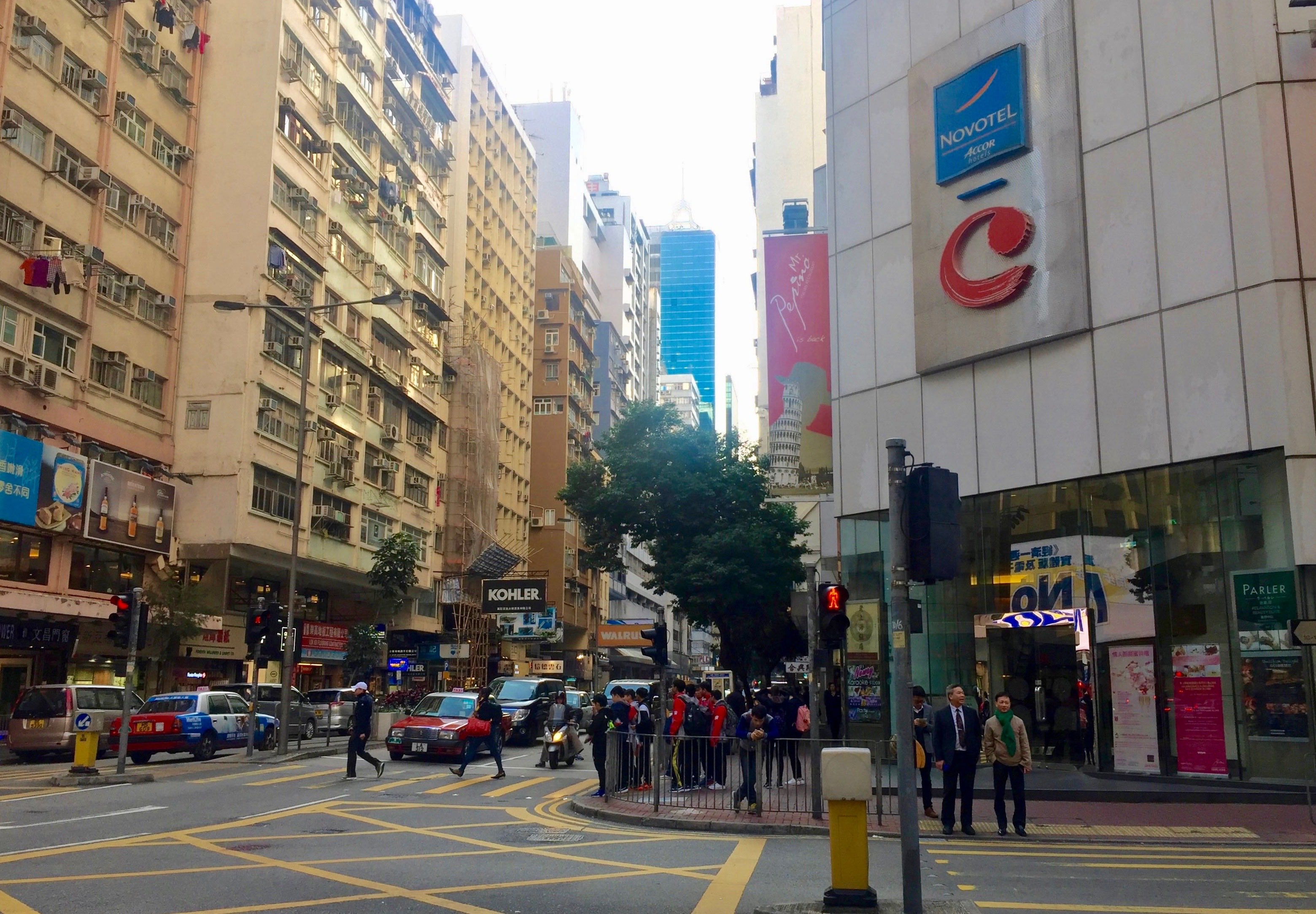High traffic Jaffe Road FB space for lease Wan Chai Hong Kong
