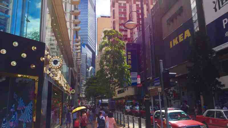 Causeway Bay Restaurant Space for Lease on Sugar Street HK with high pedestrian flow