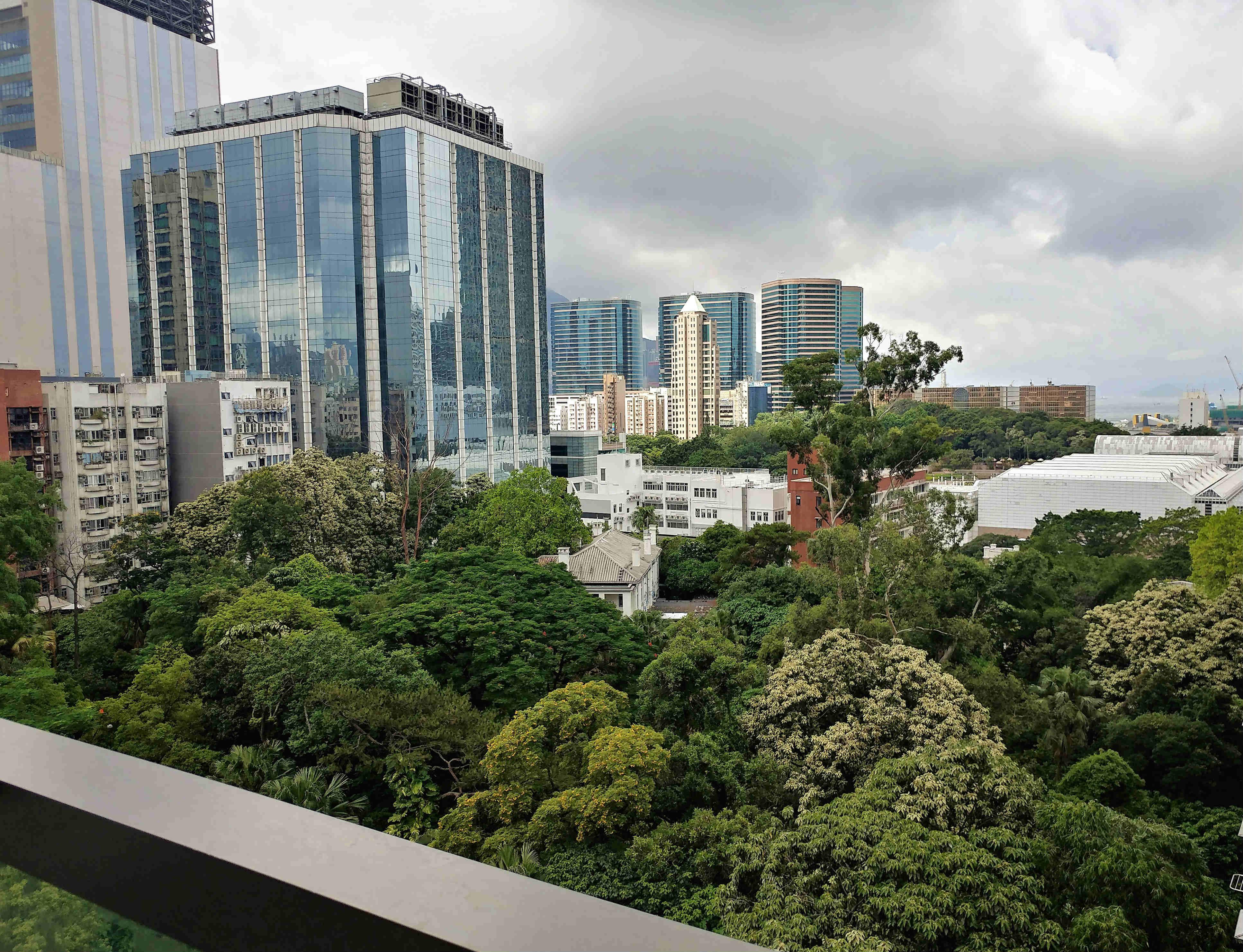 FB shop for lease overlooking greenery of Kowloon Park - Tsim Sha Tsui, Hong Kong