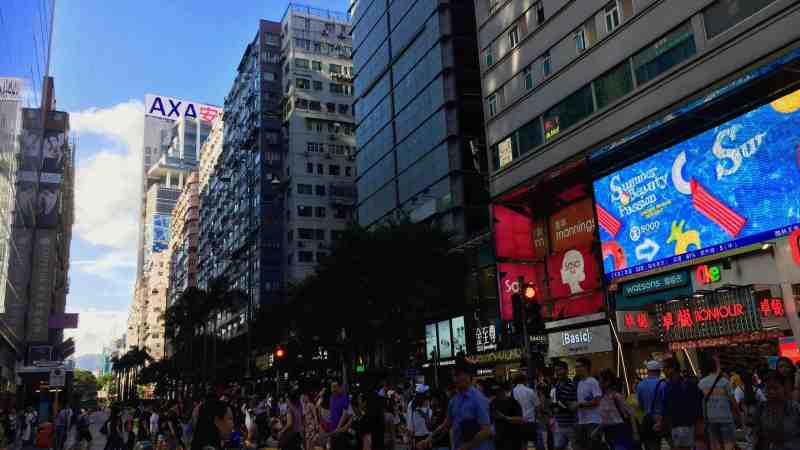 HK Tsim Sha Tsui High Traffic Restaurant Shop to Let