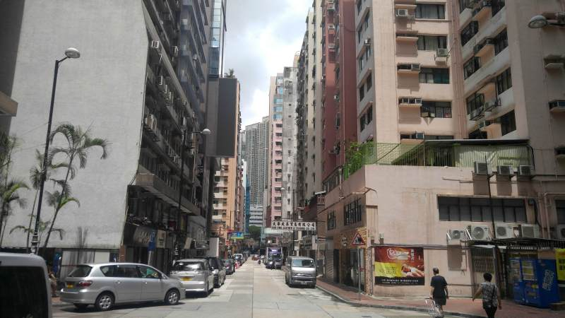 Hillwood Road Restaurant space fior lease with wide window frontage in Tsim Sha Tsui, HK