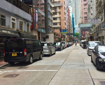 Tsim Sha Tsui Hillwood Road High ceiling restaurant space for lease, Hong Kong