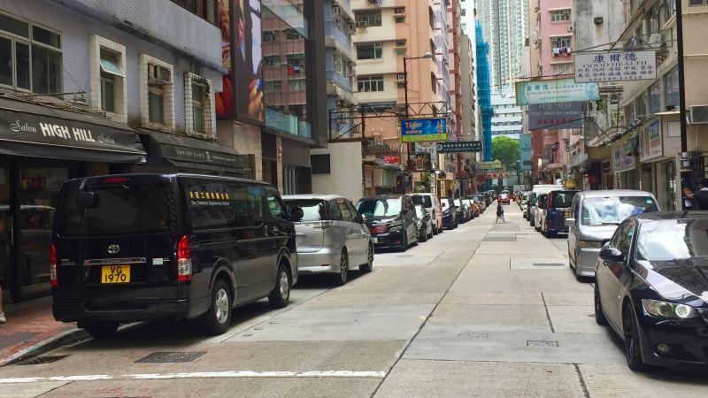 Tsim Sha Tsui Hillwood Road High ceiling restaurant space for lease, Hong Kong