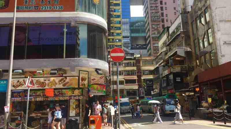 Hong Kong Causeway Bay F&B Shop for Rent best for takeaway