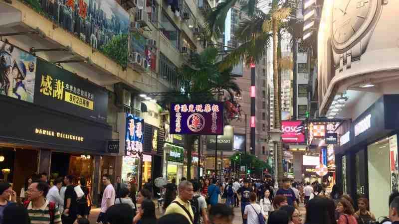 Hong Kong Causeway Bay F_B Shop for Rent in Shopping Mall with Guaranteed customers