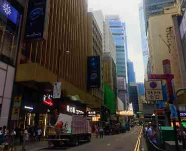 Hong Kong Central Queen's Road Central F&B Shop for Lease