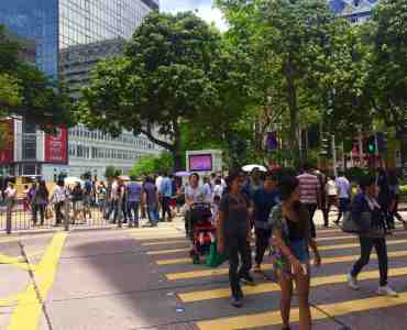 Hong Kong Tsim Sha Tsui High Traffic Restaurant Shop to Let with office tourist crowds