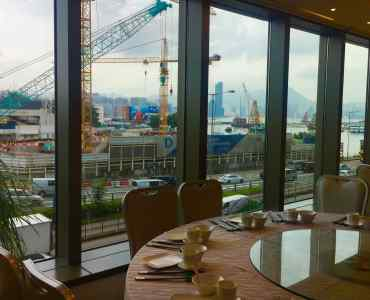 HK Harbour view restaurant space for lease in Causeway Bay