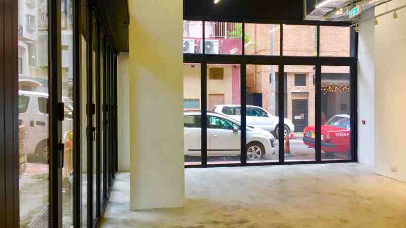Two-sided Frontage F&B Shop for Lease in Tai Hang Hong Kong