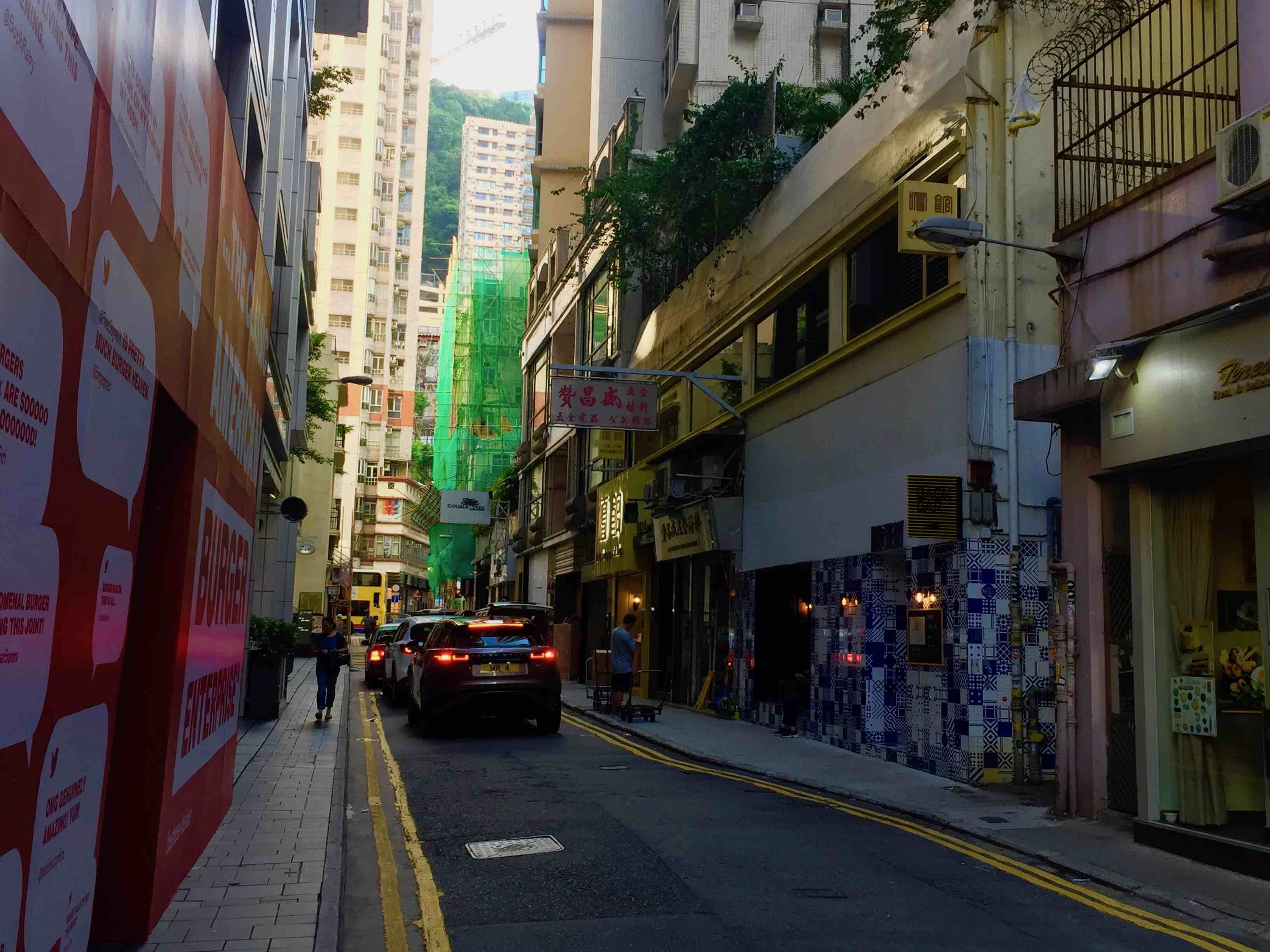 Wan Chai Ship Street high-ceiling food & beverage shop for lease in Hong Kong