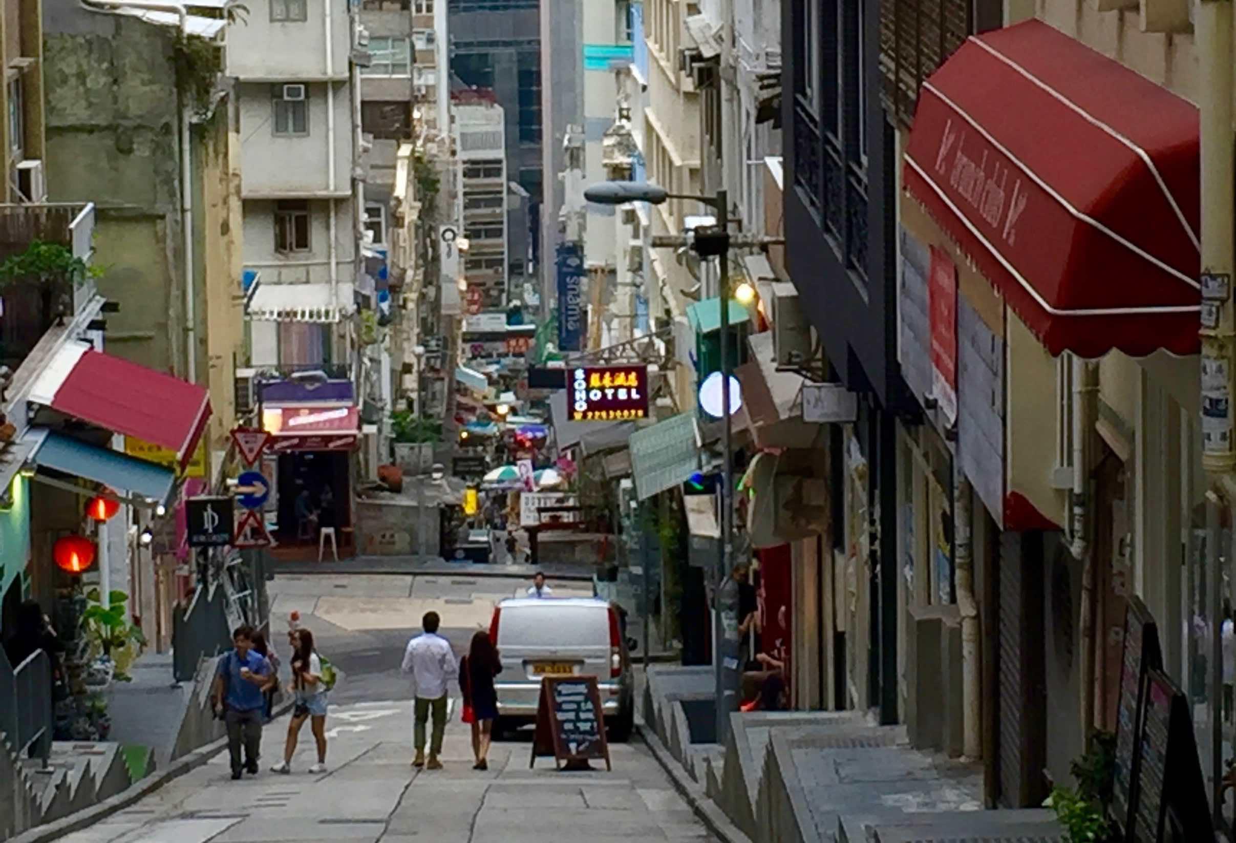 Hong Kong Soho Central F&B Shop for Rent