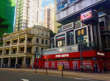 Five Guys debuts its first burger restaurant in Asia - Wanchai HK