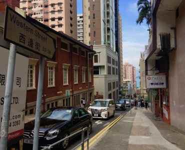 Hong Kong Sai Ying Pun High-ceiling F&B Shop for Rent