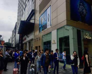 HK Tsim Sha Tsui High traffic shopping mall F&B shop for rent