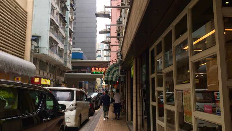 HK Wanchai high foodie traffic restaurant for rent