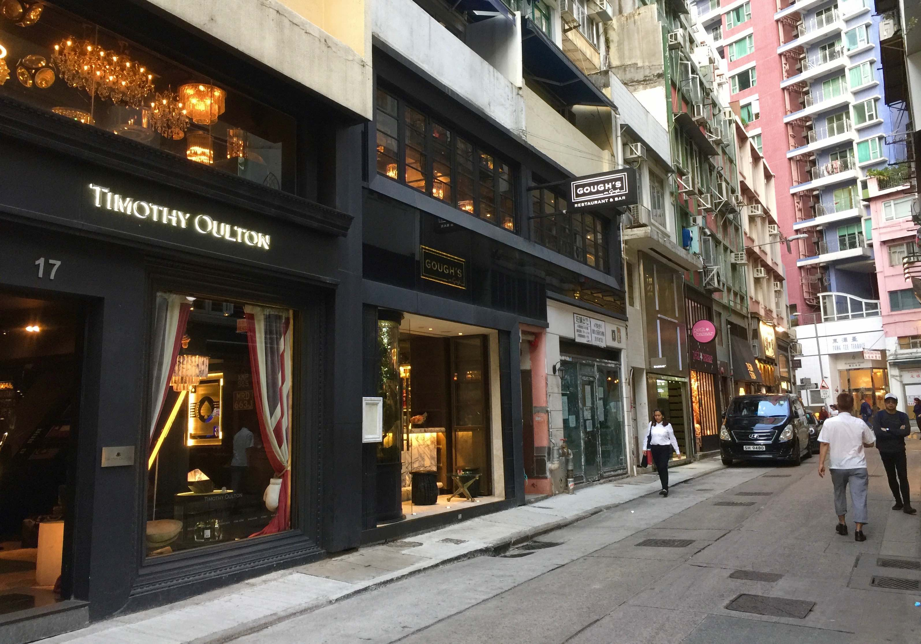 Wing Yip Restaurant >> Hong Kong Central Soho F&B Shop for Rent - Lacrucci