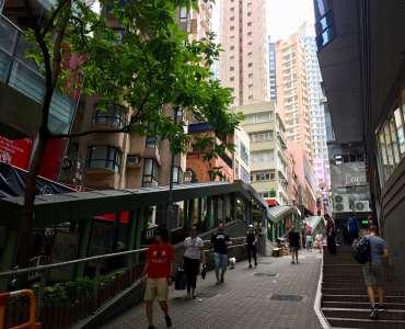 HK Central Soho FB Shop for Lease next to Escalator