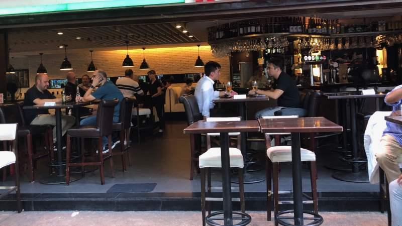 Tsim Sha Tsui restaurant beside MTR Station for rent HK