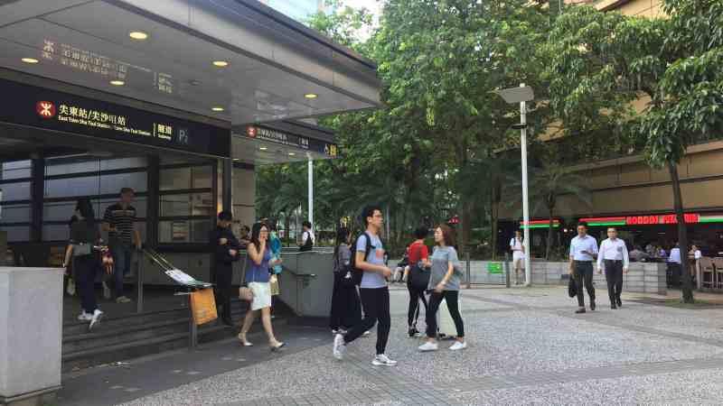 TST Restaurant space for Rent beside MTR Station