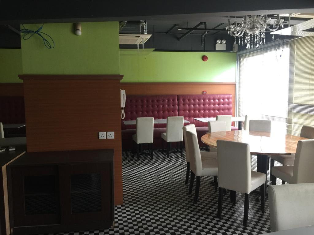 Restaurant with wide shopfront for Rent in HK Restaurant with wide shopfront for Rent in Ap Lei Chau HK