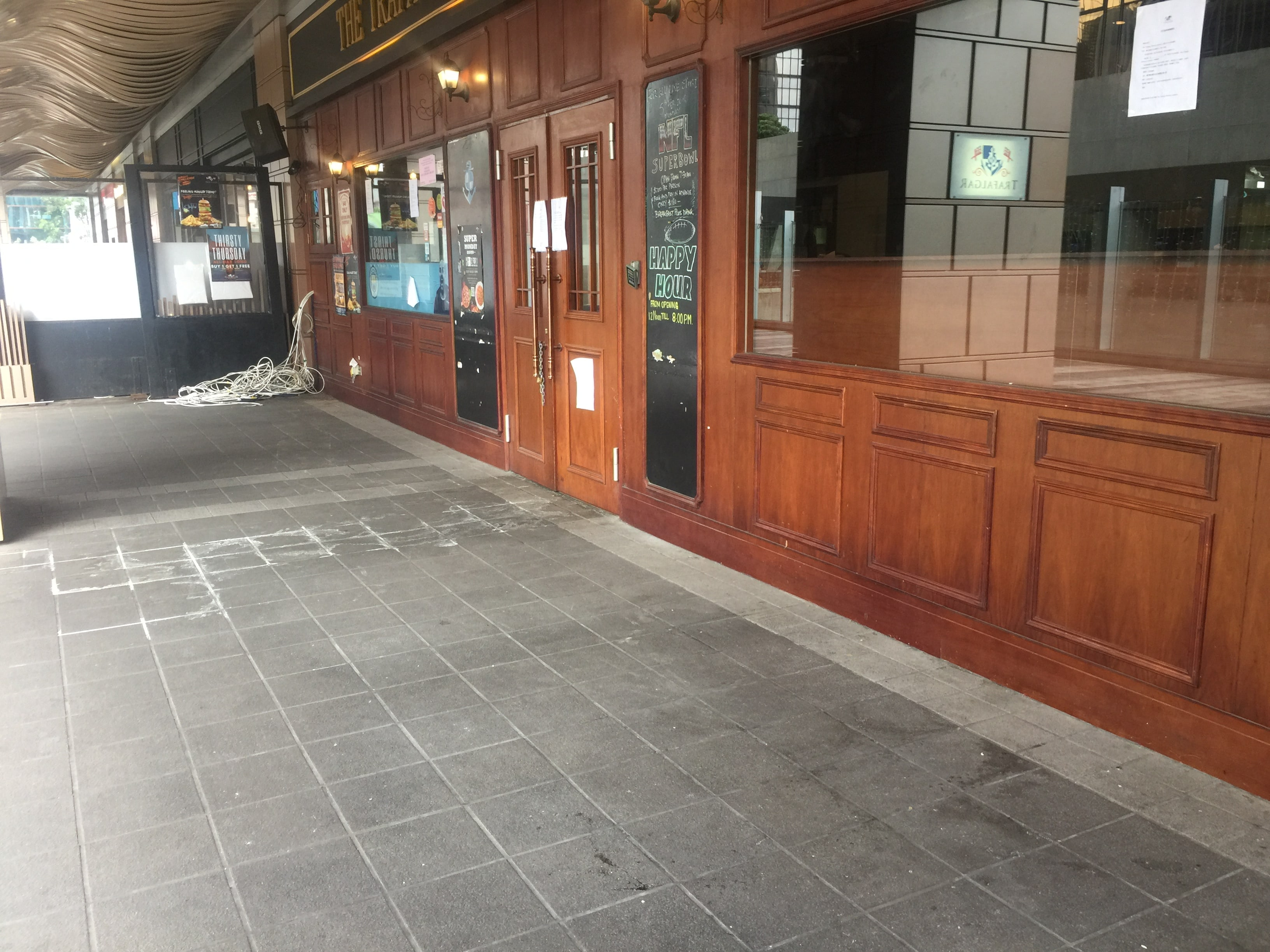 HK Wan Chai Restaurant for Lease with huge outdoor seating