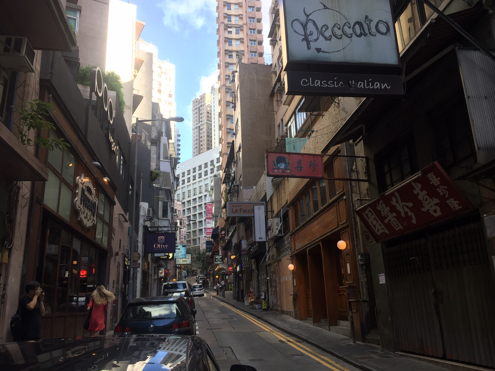 Fitted Soho Bar for Rent on Elgin St Central HK