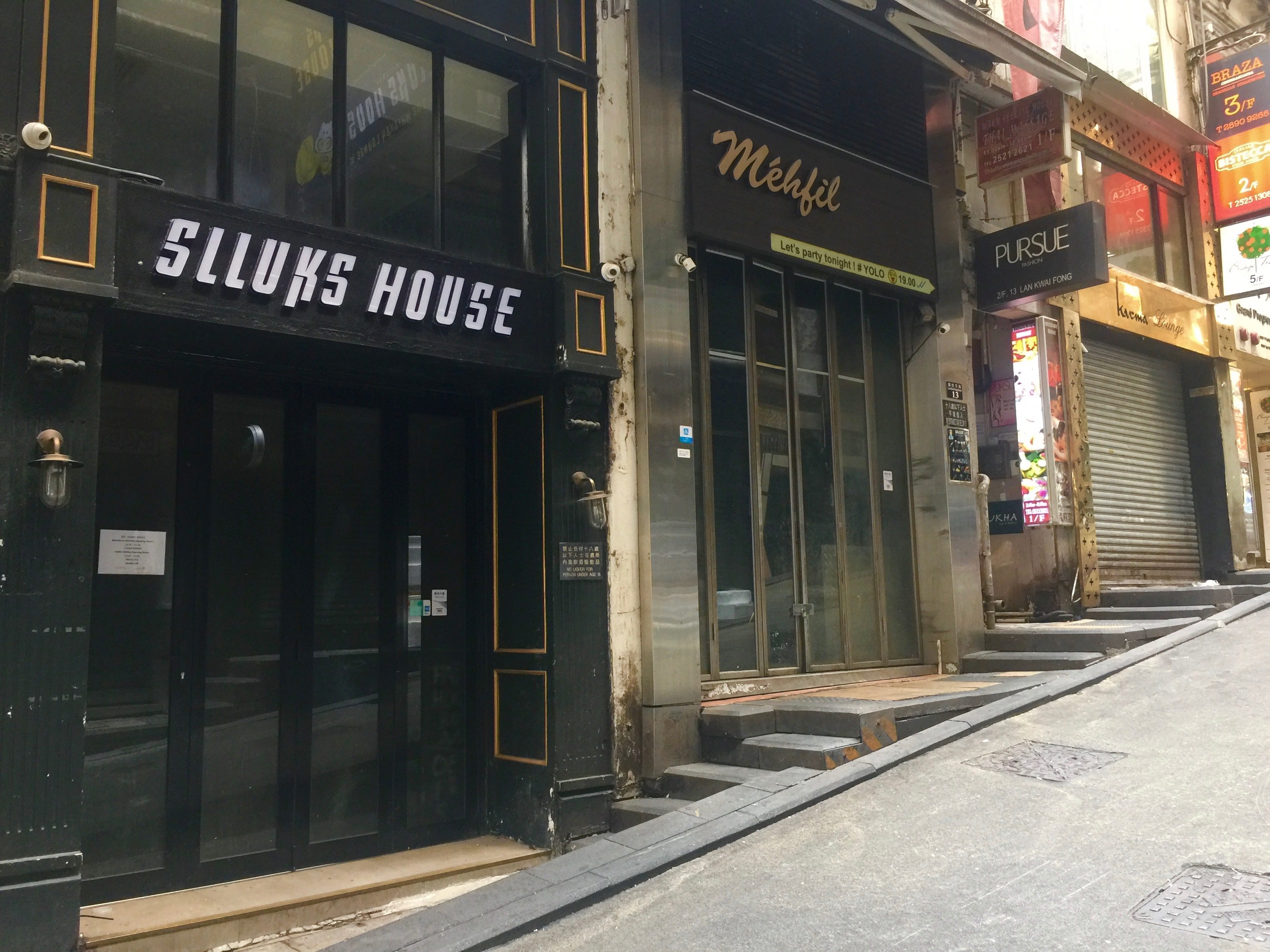 Lan Kwai Fong Bar for Lease in Central HK