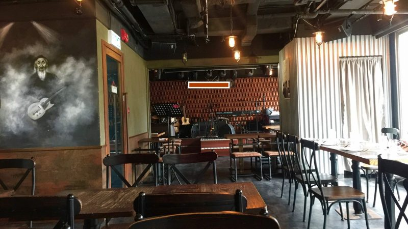 Bar Restaurant with Outdoor Area for Lease in Central HK