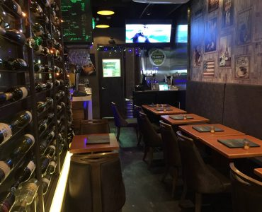 Bar Restaurant with Rooftop for Sale with Lease in Sheung Wan HK