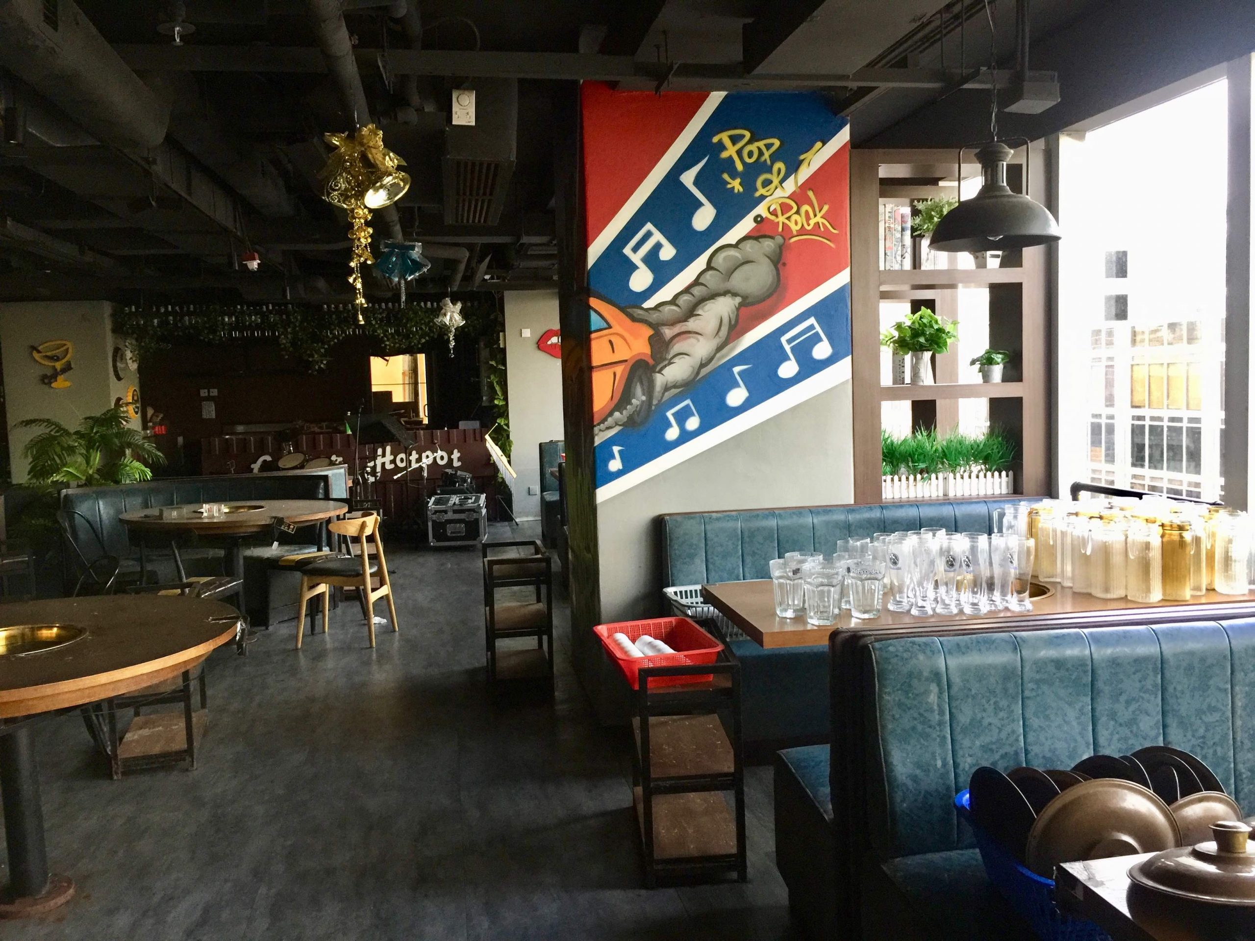 Fitted Hotpot Restaurant space for rent in Kowloon HK