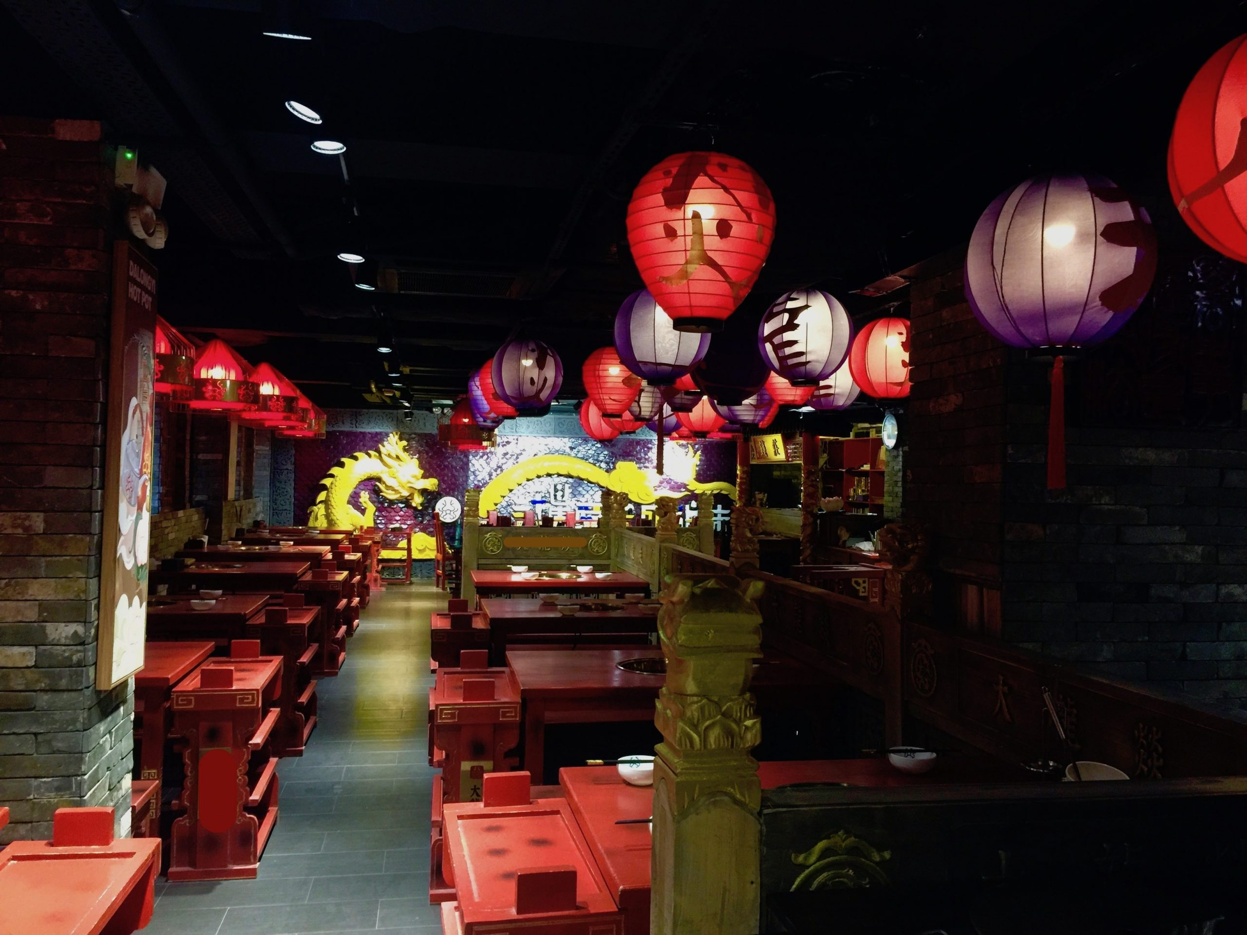 Furnished Hotpot Restaurant Space for Lease in Causeway Bay HK